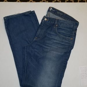 7 for all Mankind  Carson means Jean's sz 38/35